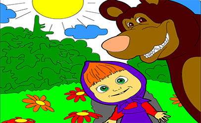 Игры - Маша и Медведь сериал-мультик